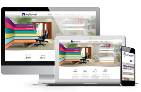 Attractive Web Design by Weberest