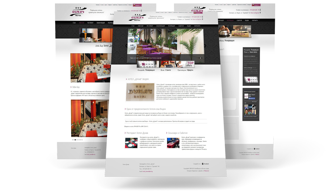 Mobile website project by Weberest